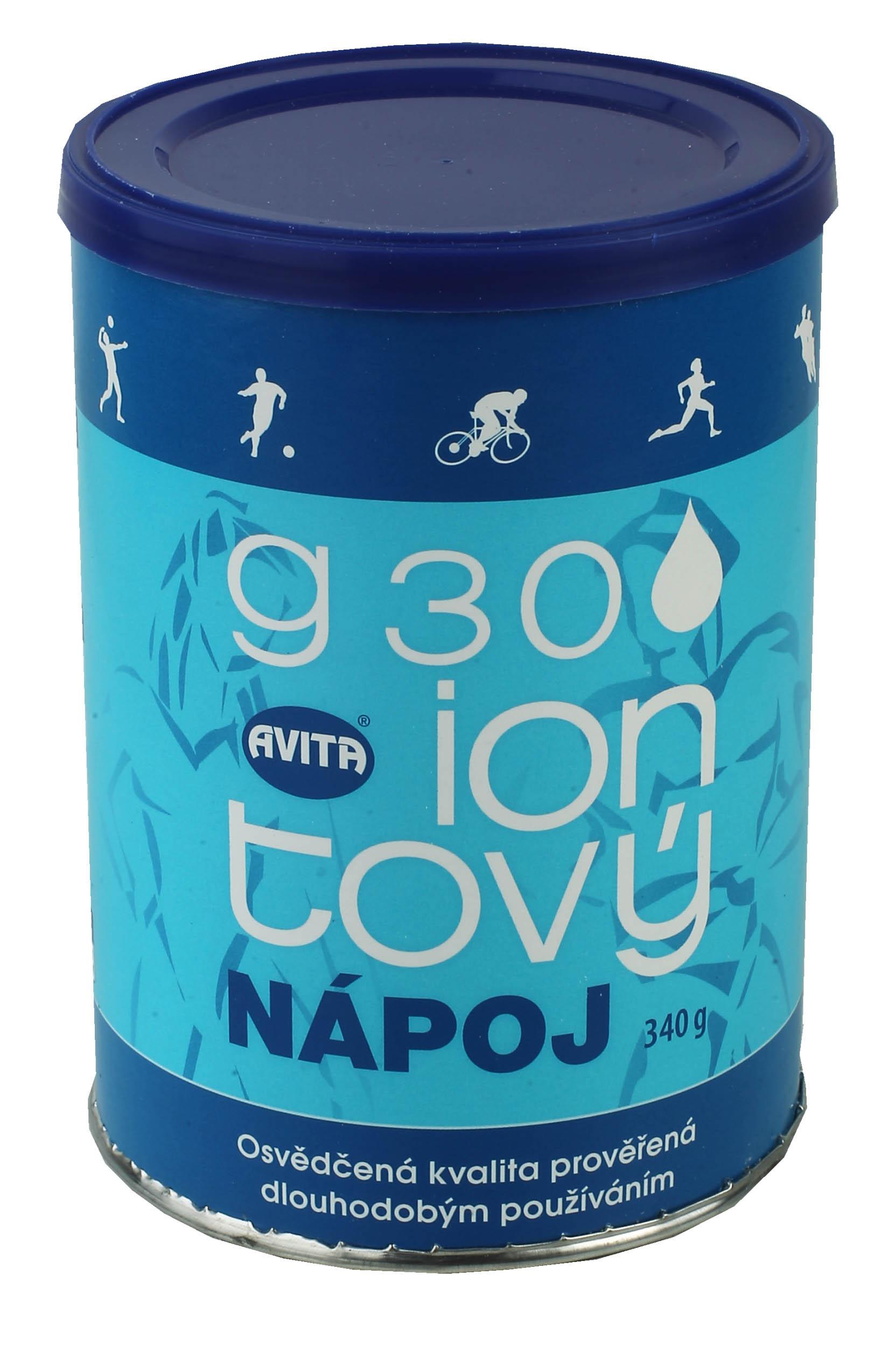 Iontový nápoj G30 dóza 340g bez lepku