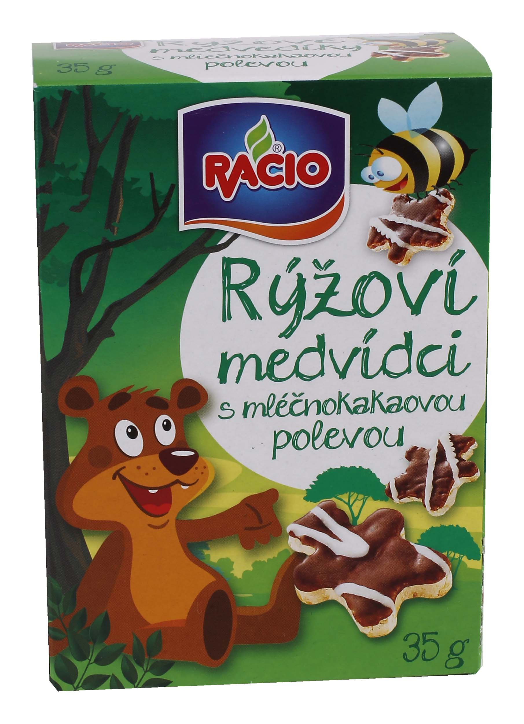 RACIO rýžoví medvídci 35g bez lepku
