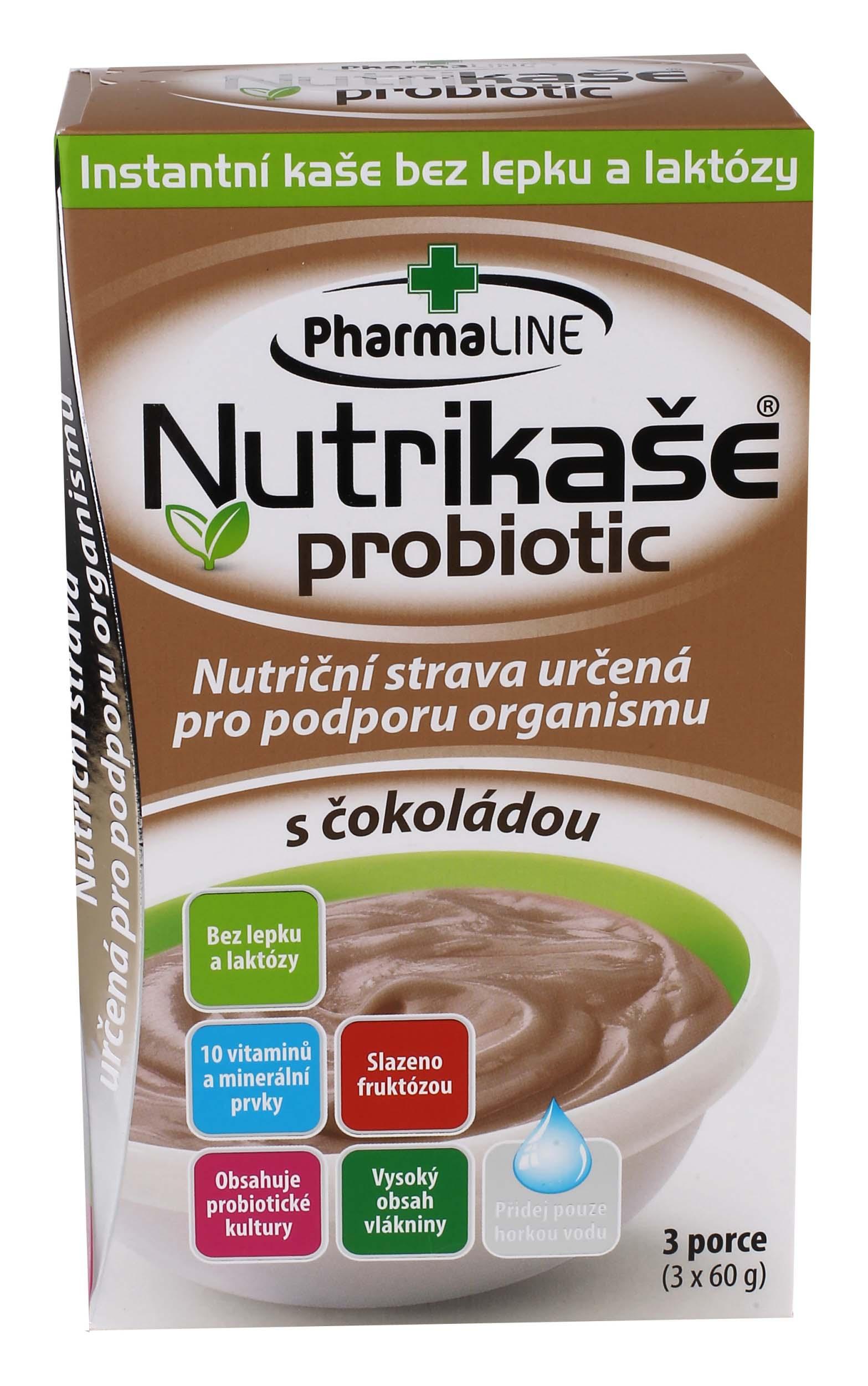 Nutrikaše probiotic – sčokoládou 180g (3x60g) bez lepku