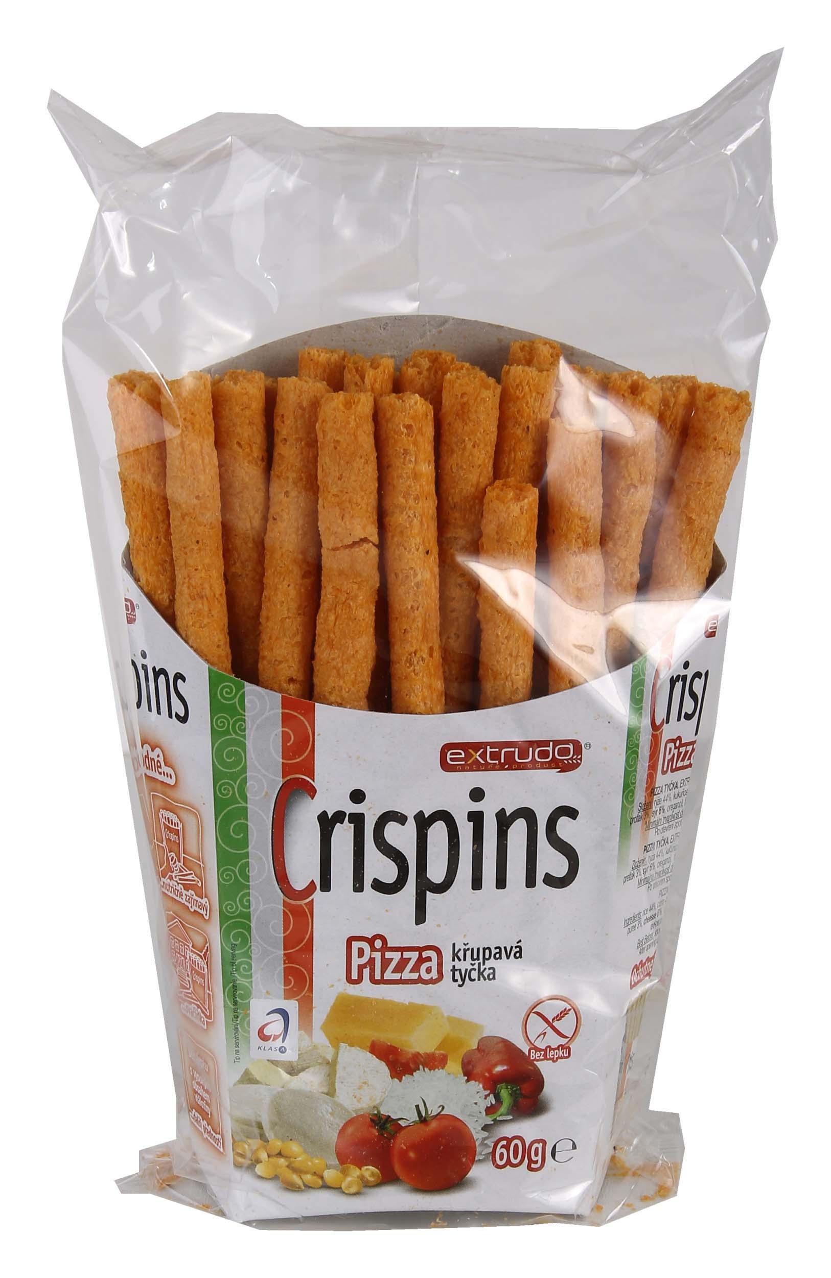 Crispins tyčka pizza 60g bez lepku