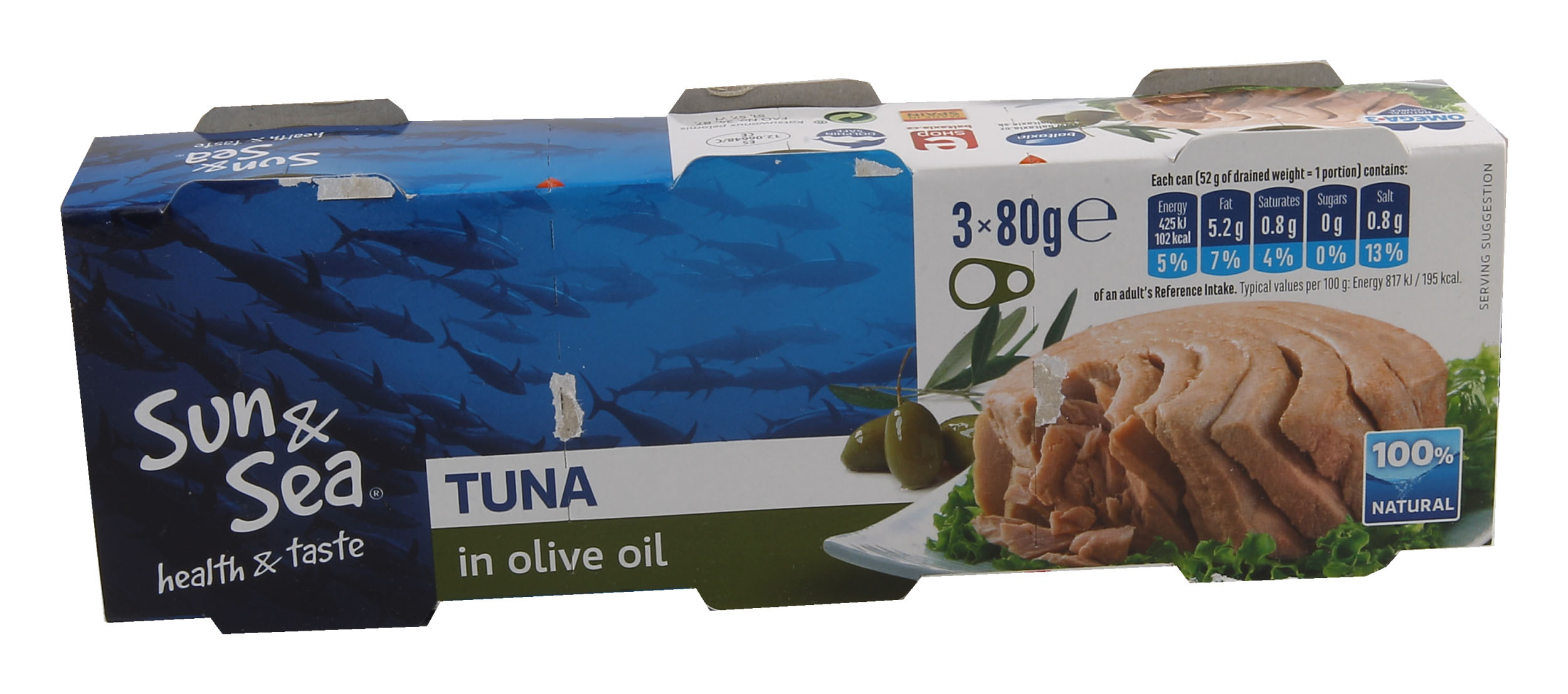 Tuňák volivovém oleji 3x80g Sun&Sea