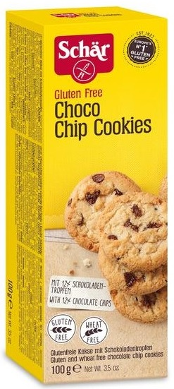 SCHAR CHOCO CHIP COOKIE sušenky bez lepku 100g