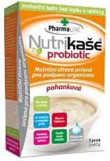 Nutrikaše probiotic – pohanková 180g (3x60g) bez lepku
