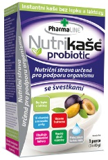 Nutrikaše probiotic – se švestkami 180g (3x60g) bez lepku